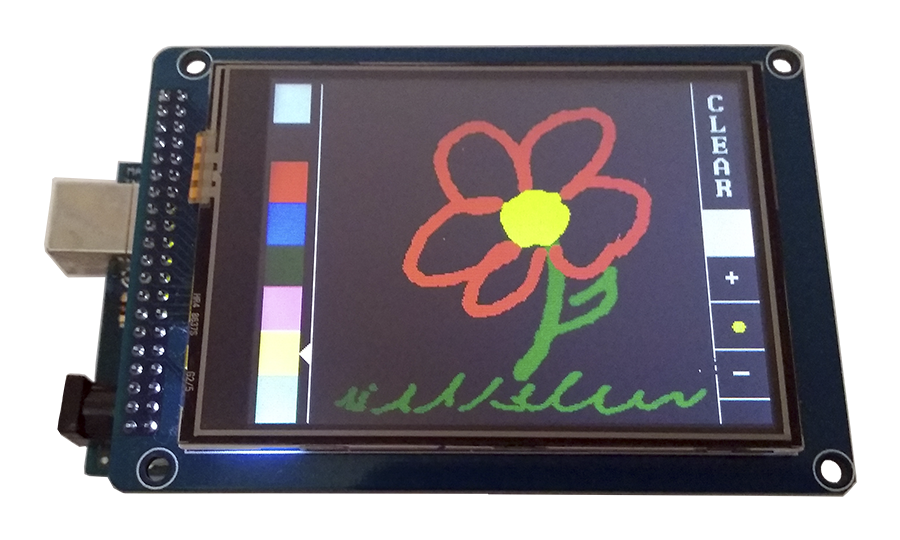 """Display LCD TFT 3.2"""" Touch Screen"""
